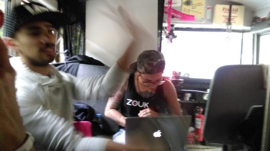 DJ Kakah at work