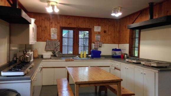 the kitchen hut
