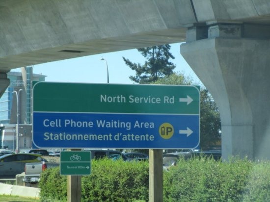 whatever a cell phone waiting area is?!?