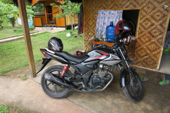 An´s motorbike