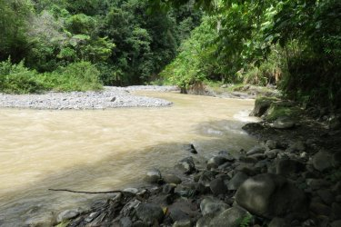 the river we had to cross