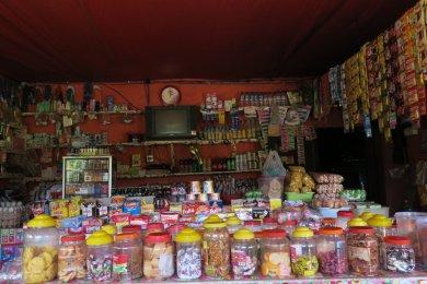 typical shop/café at a village