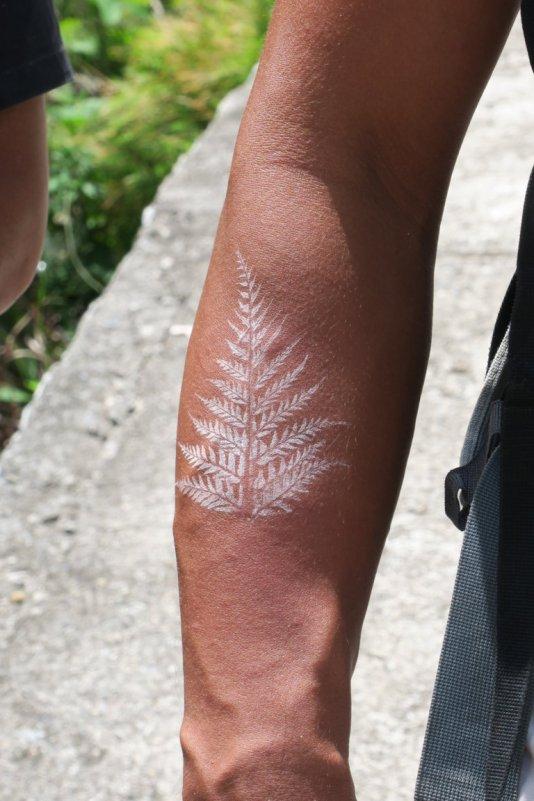jungle tatoo ( I also got one on my T-Shirt)