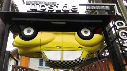 upside down house
