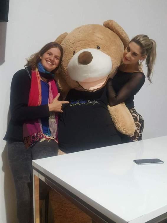 Christofur with becky and me
