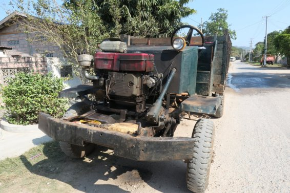 typical tractor in Hsipaw