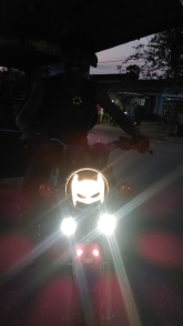local with his bat bike