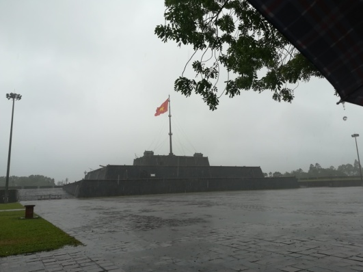 great weather for visiting the Citadelle