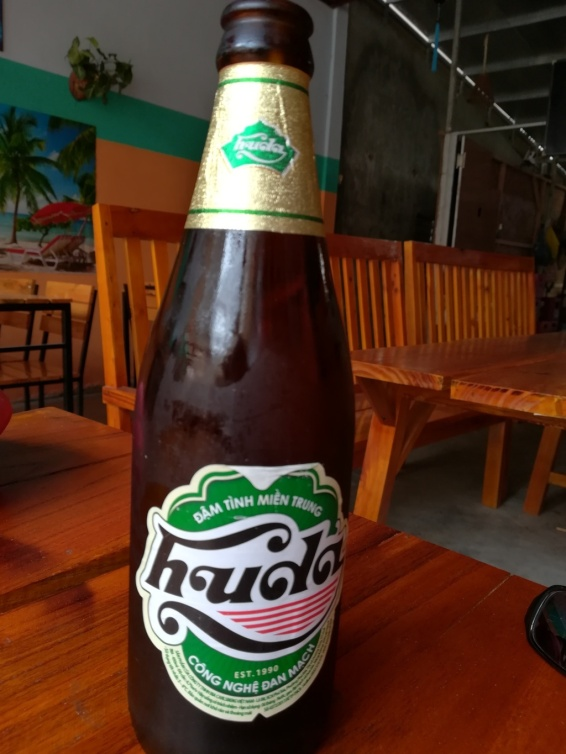 huda beer with the dinner