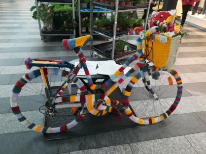 a woolen bike